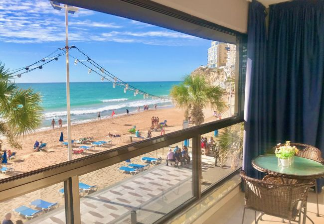 in Benidorm - LEVANTE SEAFRONT BEACH BLUELINE [D-665]